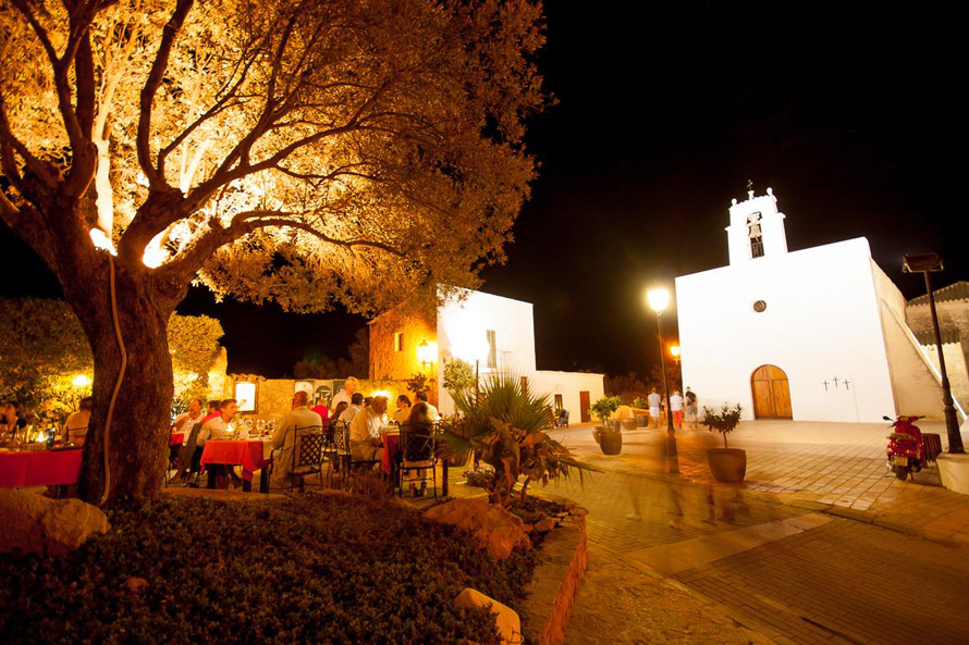 Can Berri Vell restaurant Ibiza
