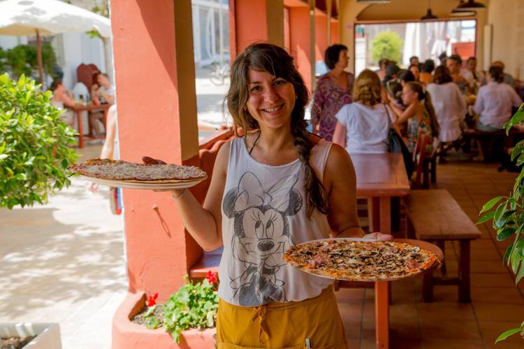 Restaurante economico Formentera Macondo pizzas
