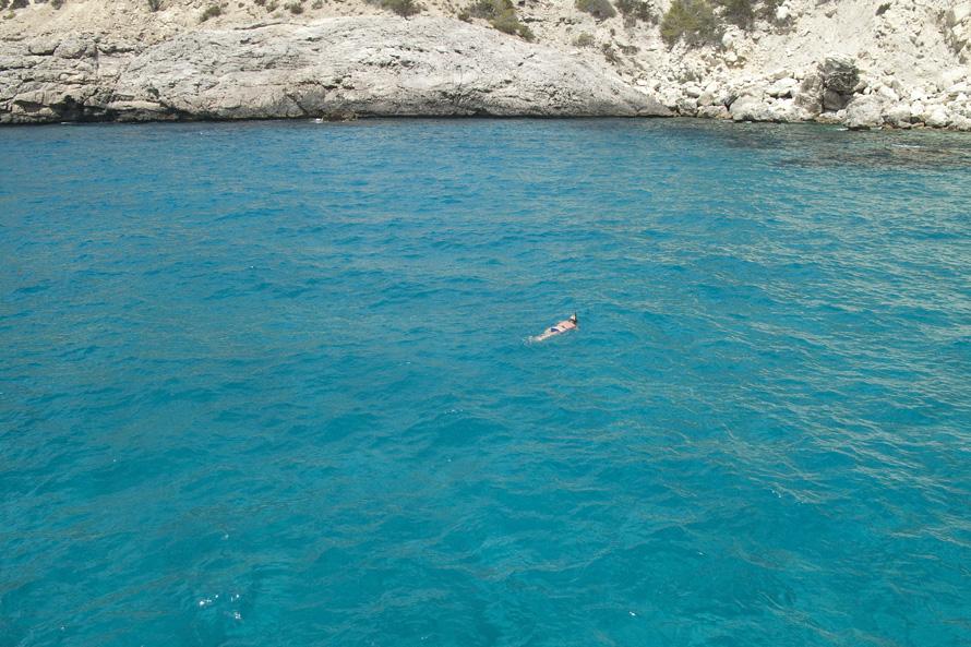 es vedra snorkel eventos excursiones ibiza barco