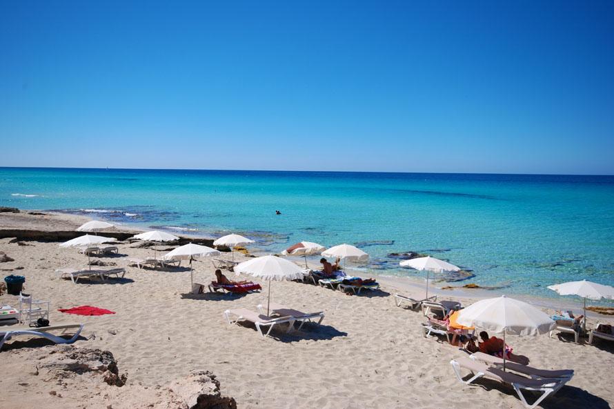 Es Migjorn beach Formentera