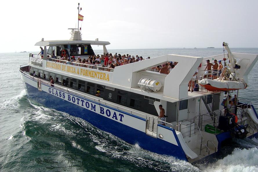 W catamaran ferry ibiza formentera