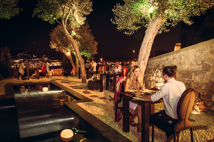 restaurante romantico Ibiza Kyupiddo